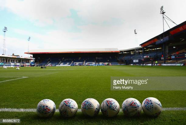 A general view inside the stadium prior to the Sky Bet League Two match between Luton Town and Newport County at Kenilworth Road on September 30 2017...