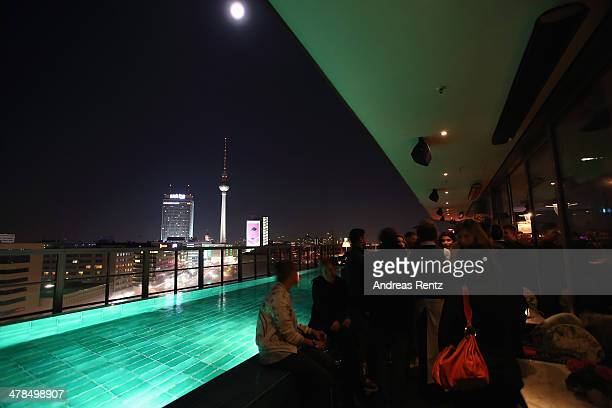 A general view is pictured at a reception after the premiere of Paramount Pictures' 'NOAH' at Soho House on March 13 2014 in Berlin Germany