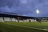 A general view is pictured during the 2017 UEFA European U21 Championships Qualifier between U21 Faroe Islands and U21 Germany at Torsvollur on...