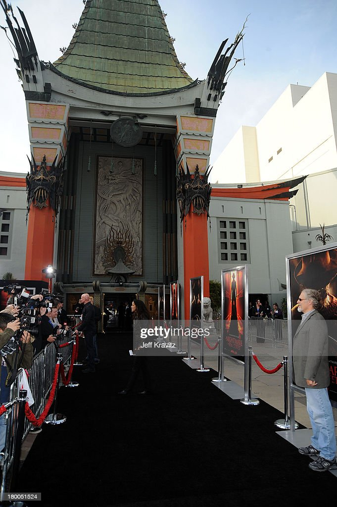 A general view is seen at the Los Angeles premiere of A Nightmare On Elm Street held at Grauman's Chinese Theatre on April 27 2010 in Hollywood...
