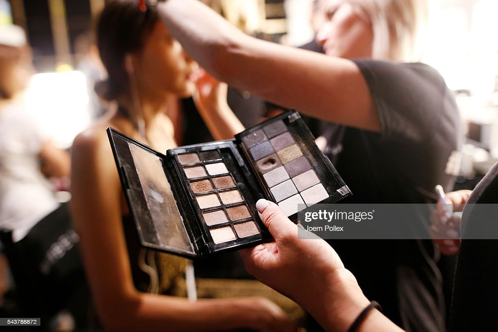A general view is seen backstage ahead of the Wataru Tominaga presented by Mercedes-Benz & Elle show during the Mercedes-Benz Fashion Week Berlin Spring/Summer 2017 at Erika Hess Eisstadion on June 30, 2016 in Berlin, Germany.