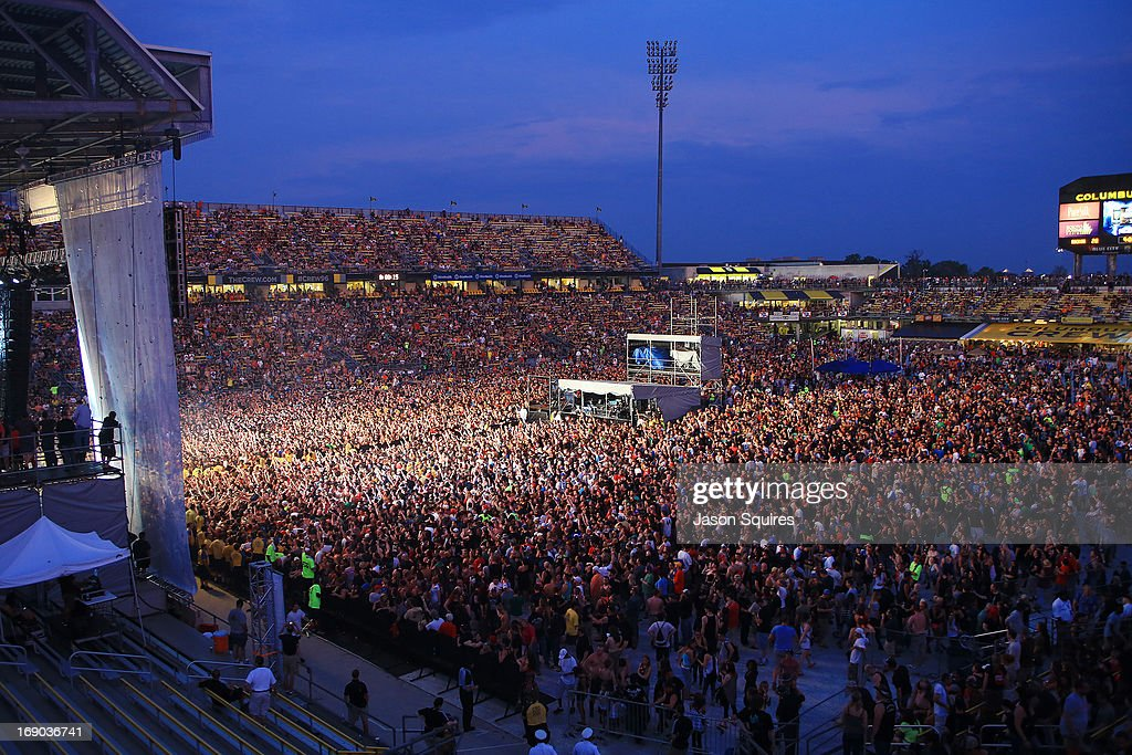 A general view is seen during 2013 Rock On The Range at Columbus Crew Stadium on May 18, 2013 in Columbus, Ohio.