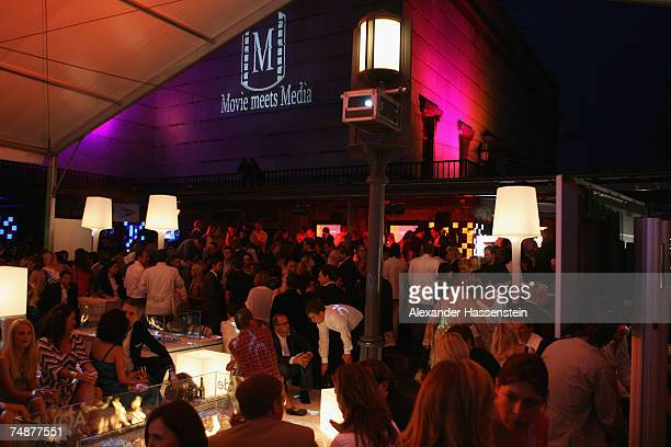 A general view is seen during the Movie Meets Media Night at the Discotheque P1 on June 24 2007 in Munich Germany