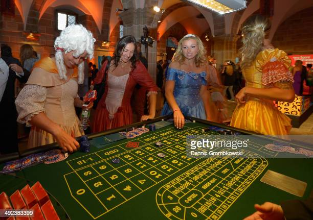 A general view is seen during the Player's Party on Day 3 of the Nuernberger Versicherungscup on May 19 2014 in Nuremberg Germany