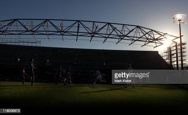 A general view is seen during the round 17 NRL match between the St George Illawarra Dragons and the Newcastle Knights at WIN Stadium on July 3 2011...