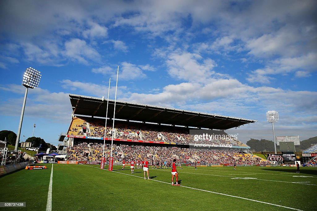 A general view is seen during the round nine NRL match between the New Zealand Warriors and the St George Illawarra Dragons at Mt Smart Stadium on May 1, 2016 in Auckland, New Zealand.