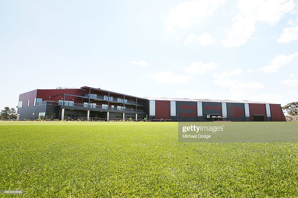 A general view is seen of the new Essendon Bombers AFL training facility at Tullamarine on November 18, 2013 in Melbourne, Australia.