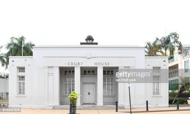 A general view is seen of the Rockhampton Court House on July 09 2017 in Rockhampton Australia