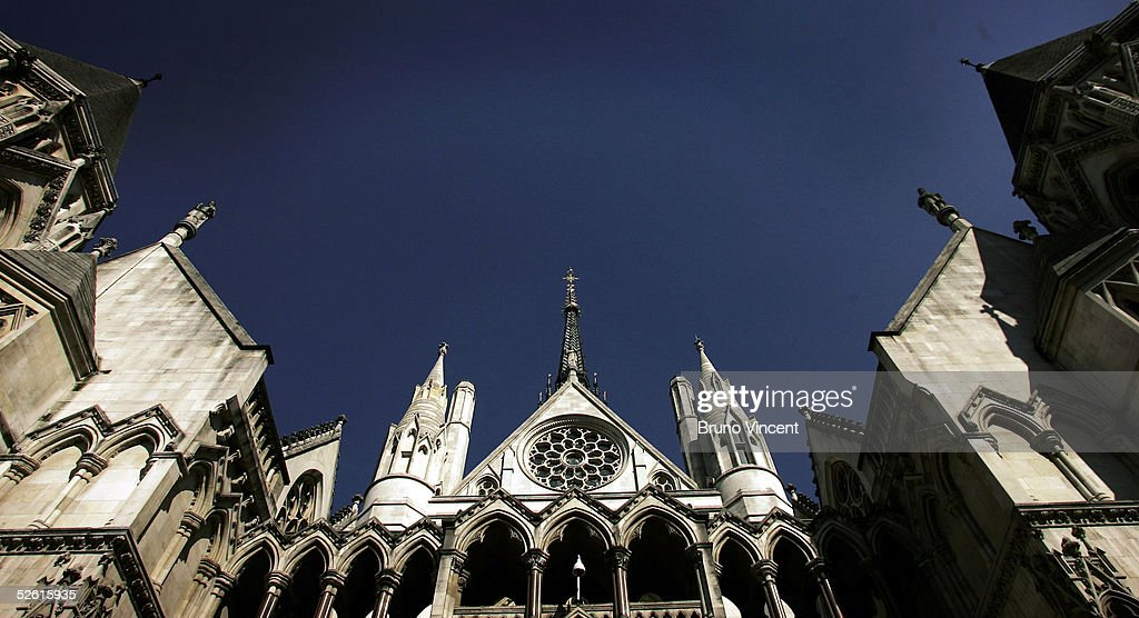 A general view is seen of the Royal Courts of Justice April 11 2005 in London