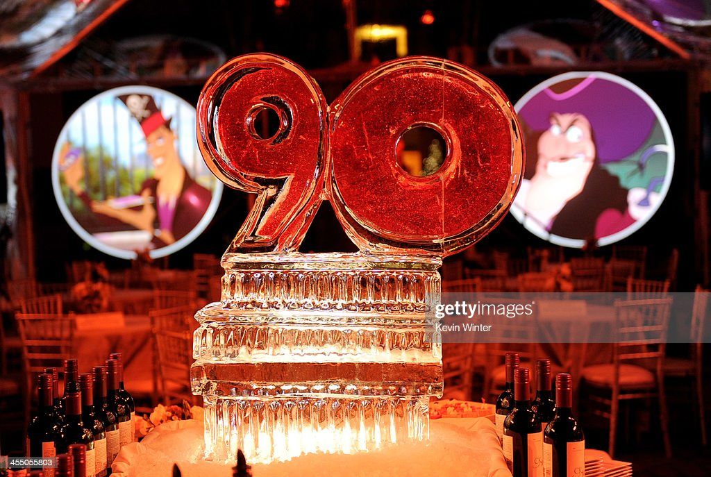 A general view is shown at a reception to celebrate 90 Years of Disney animation at The Walt Disney Studios on December 10, 2013 in Burbank, California.