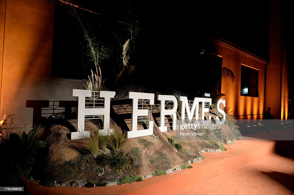 A general view is shown at the after party for the opening of Hermes Beverly Hills Boutique at 3 Labs on September 3, 2013 in Culver City, California.