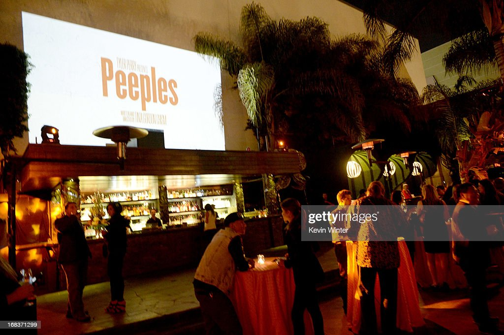 A general view is shown at the after party for the premiere of Lionsgate Films and Tyler Perry's 'Peeples' at Lure on May 8, 2013 in Los Angeles, California.