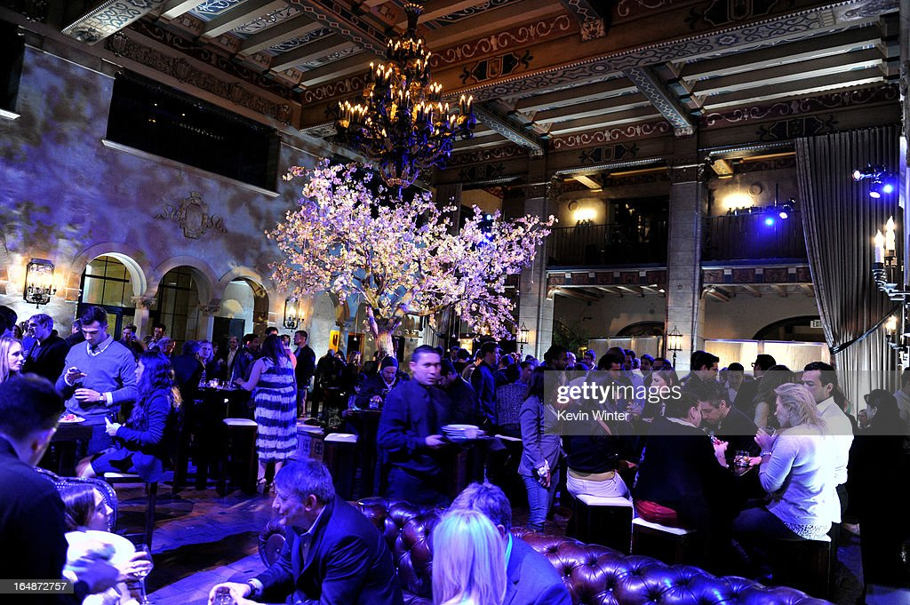 A general view is shown at the after party for the premiere of Paramount Pictures' 'G.I. Joe: Retaliation' at the Roosevelt Hotel on March 28, 2013 in Los Angeles, California.