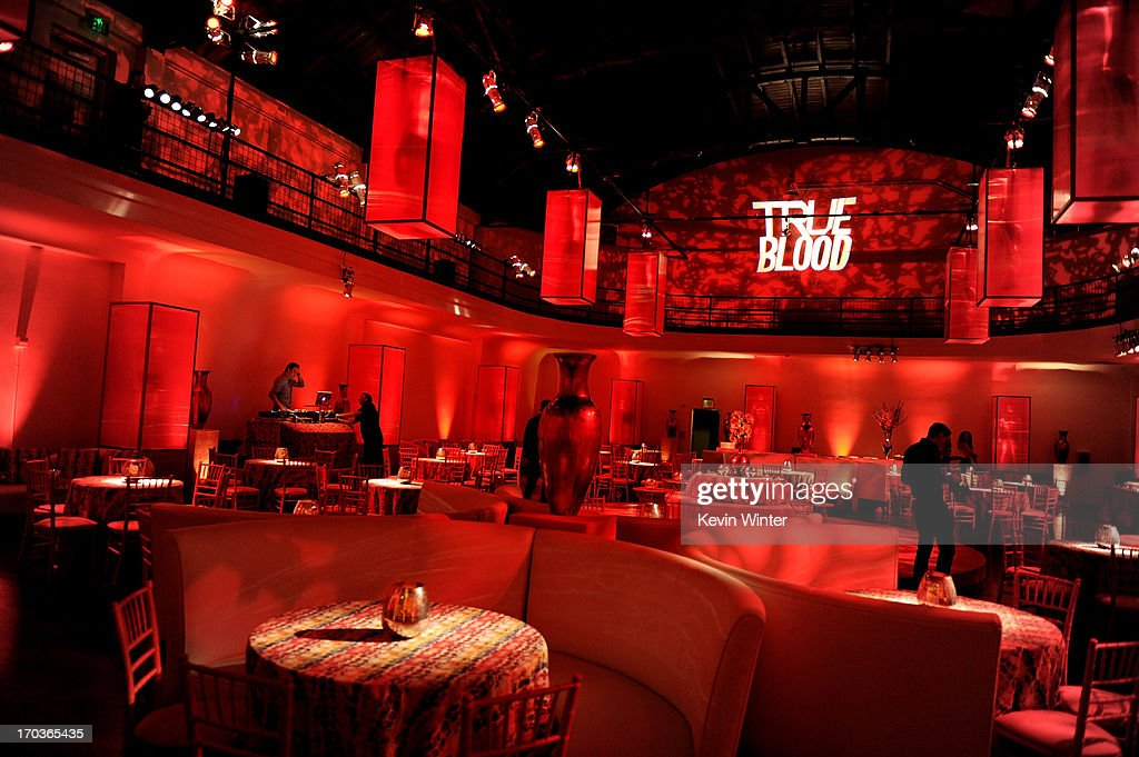 A general view is shown at the after party for the premiere of HBO's 'True Blood' at the Social Club on June 11, 2013 in Los Angeles, California.