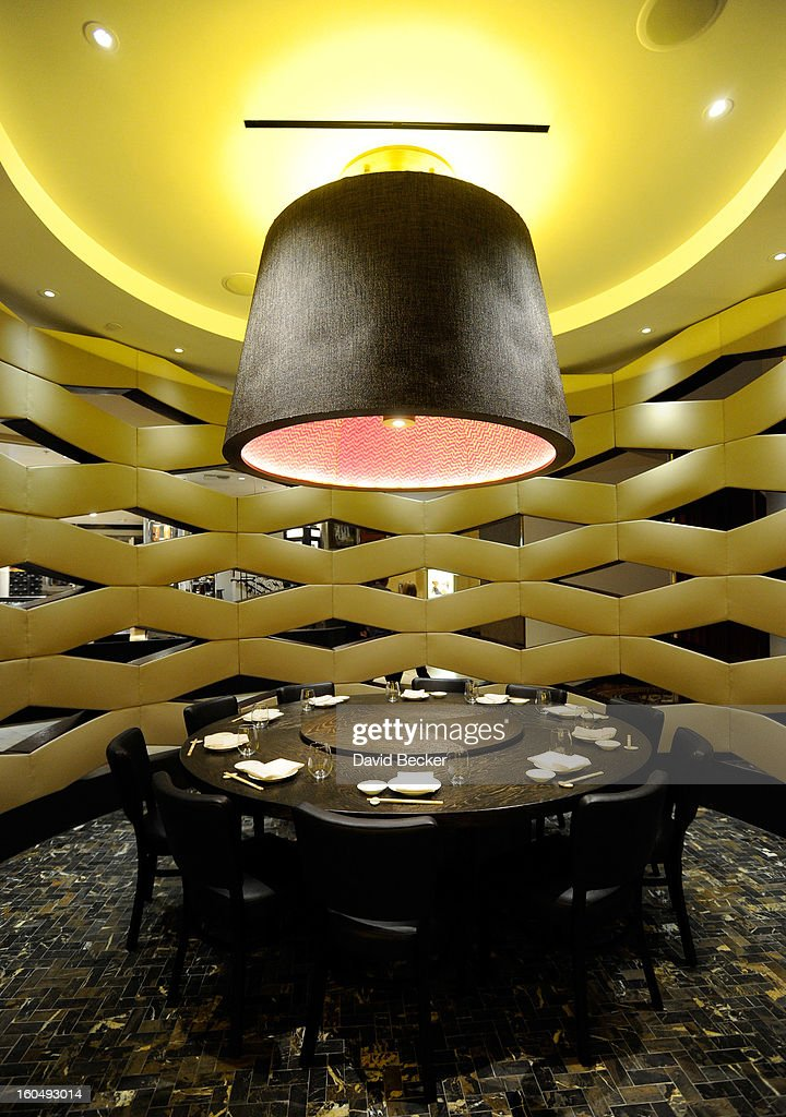 A general view is shown during a preview for the Nobu Restaurant and Lounge Caesars Palace on February 1, 2013 in Las Vegas, Nevada. The Nobu Hotel Restaurant and Lounge Casears Palace is scheduled to open on February 4.