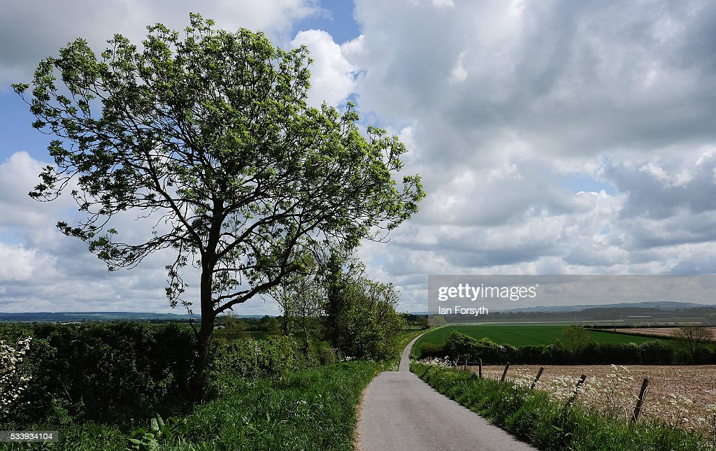 A general view looking out across the countryside that surrounds the village of Kirby Misperton on May 24, 2016 in Malton, England. North Yorkshire Planning and Regulatory Committee voted seven to four in favour of a planning application submitted by Third Energy to conduct fracking at the KM8 drilling site near the village. Hydraulic Fracturing, or fracking, is a technique designed to recover gas and oil from shale rock.