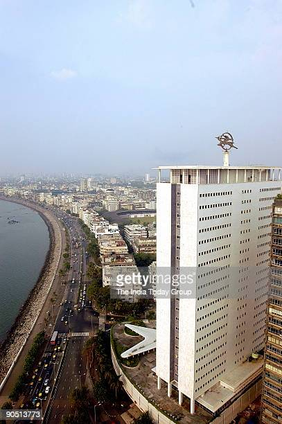 A general view Marine Drive Mumbai India also known as Queen's Necklace