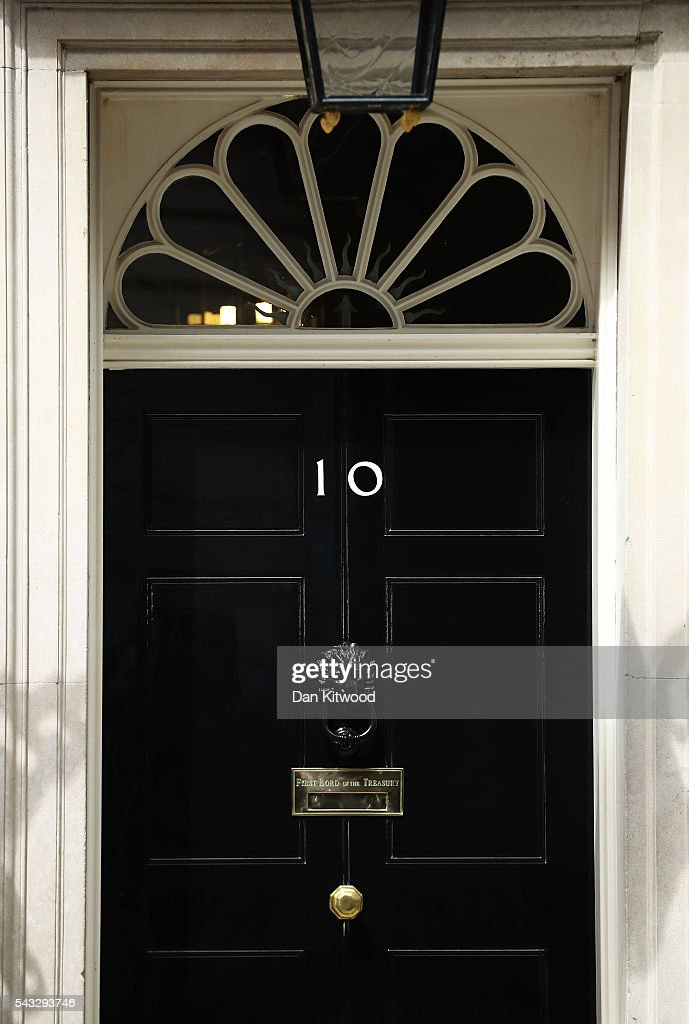 A general view of 10 Downing Street following a cabinet meeting on June 27, 2016 in London, England. British Prime Minister David Cameron chaired an emergency Cabinet meeting this morning, after Britain voted to leave the European Union. Chancellor George Osborne spoke at a press conference ahead of the start of financial trading and outlining how the Government will 'protect the national interest' after the UK voted to leave the EU.