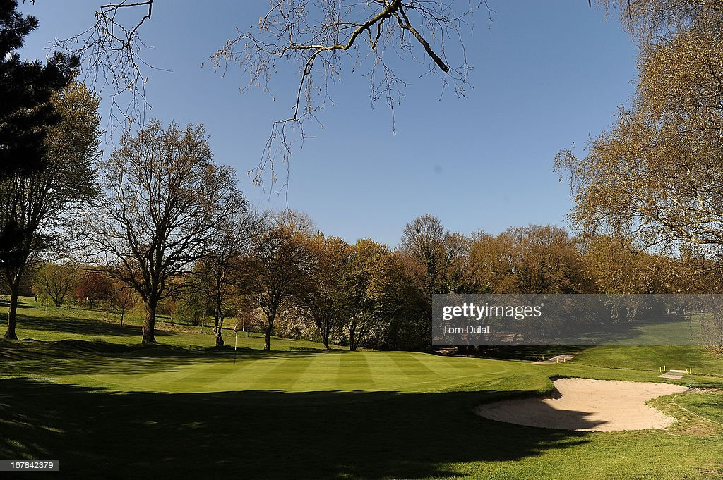 General view of 10th green during the Powerade PGA Assistants' Championship East Regional Qualifier at Chigwell Golf Club on May 01, 2013 in Chigwell, England.