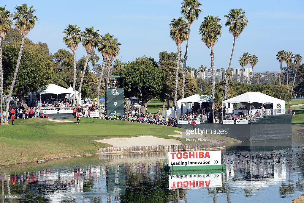General View of 17th green during the final round of the Toshiba Classic at the Newport Beach Country Club on March 17, 2013 in Newport Beach, California.