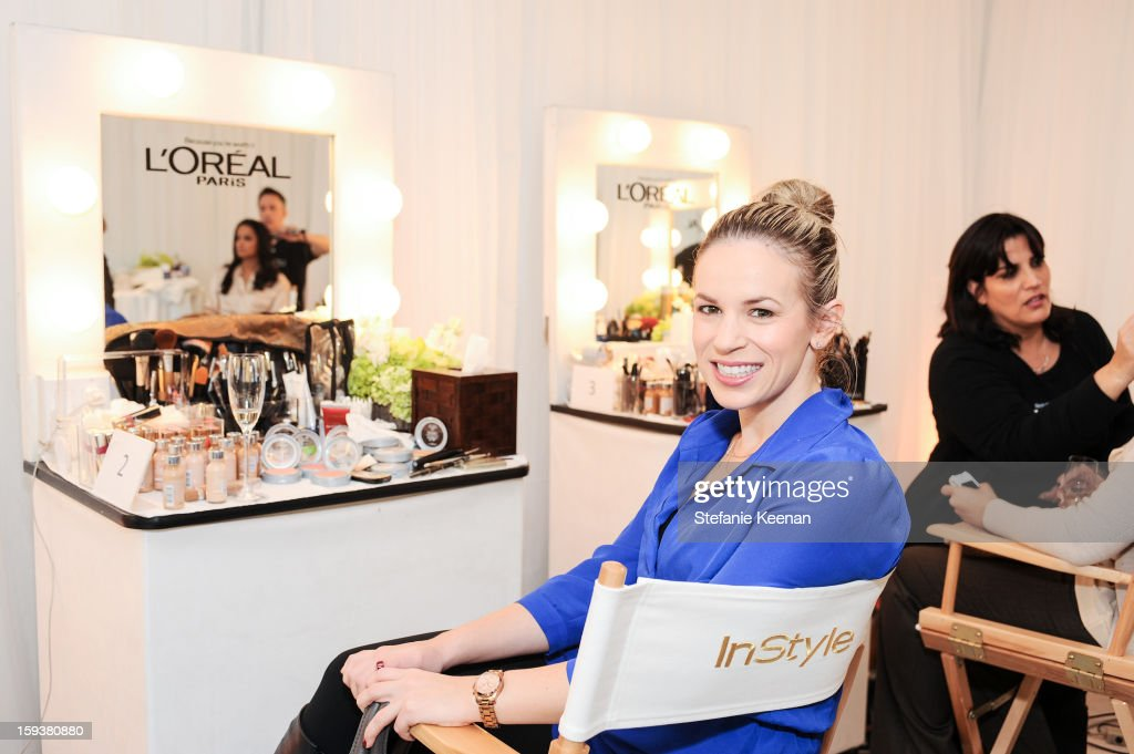 General View of 2013 InStyle Beauty Lounge - Day 2 at Four Seasons Hotel Los Angeles at Beverly Hills on January 12, 2013 in Beverly Hills, California.