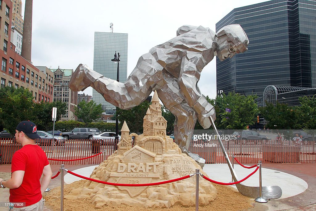 A general view of 2013 NHL Draft Fan Fest at Prudential Center on June 30, 2013 in Newark, New Jersey.