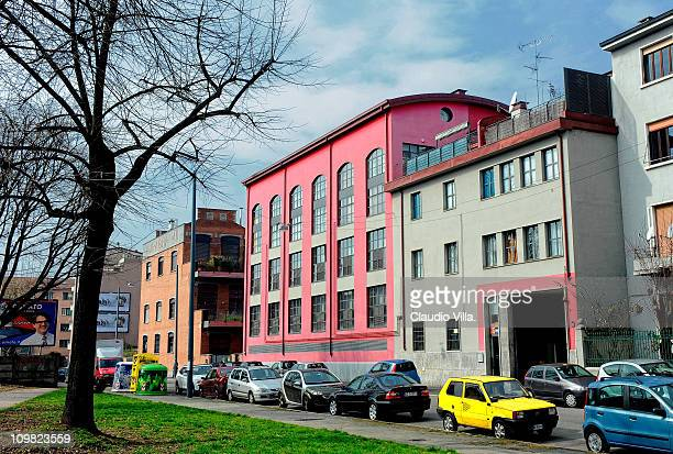 A general view of 30 Via Ajraghi on March 7 2011 in Milan Italy The new house of Gabriele Moratti son of Mayor of Milan Letizia Moratti rebuilt in...