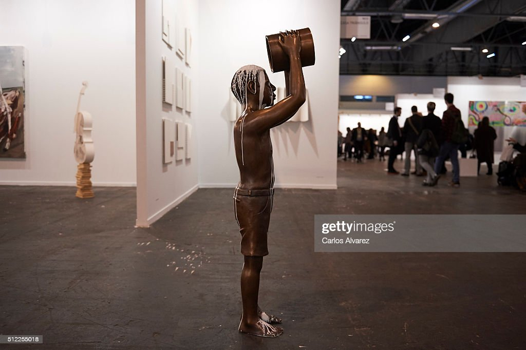 General view of 34th ARCO International Contemporary Art Fair at Ifema on February 25 2016 in Madrid Spain