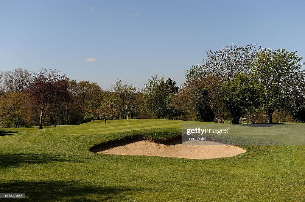 General view of 6th green during the Powerade PGA Assistants' Championship East Regional Qualifier at Chigwell Golf Club on May 01, 2013 in Chigwell, England.