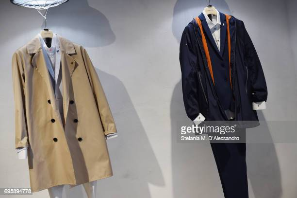 A general view of 92 Pitti Uomo held at Fortezza da Basso on June 14 2017 in Florence Italy