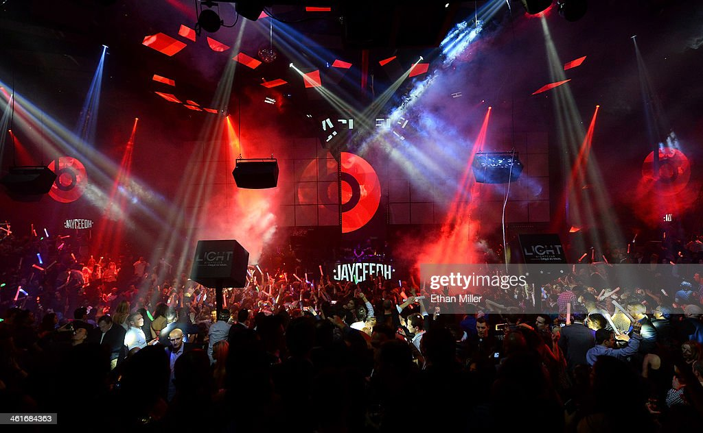 A general view of a Beats by Dr. Dre CES after party featuring Axwell and Kendrick Lamar at the Light Nightclub at the Mandalay Bay Resort and Casino on January 9, 2014 in Las Vegas, Nevada.