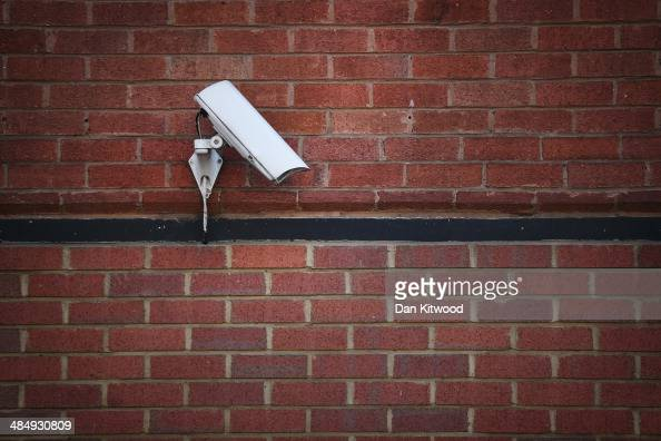 A general view of a CCTV camera in Camden on April 15 2014 in London England Privacy campaigners have stated that Town halls in the UK have been...