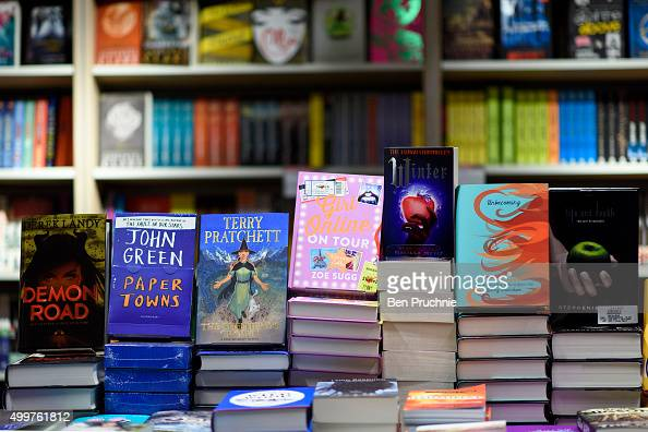 A general view of a collection of childrens books on display in Foyles bookshop on December 3 2015 in London United Kingdom Foyles flagship store on...