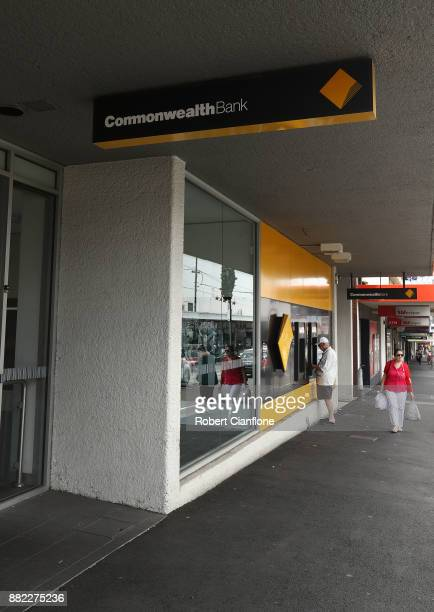 A general view of a Commonwealth Bank branch on November 30 2017 in Melbourne Australia Prime Minister Malcolm Turnbull today announced that the...