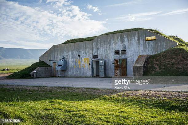A general view of a former nuclear weapon facility the detonate simulation of the Chinese first atomic bomb was held here which becomes an open...