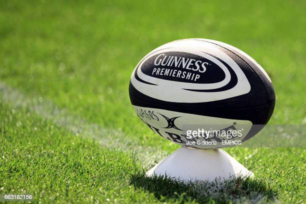 General view of a Guinness Premiership Matchball