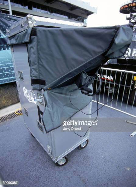 General view of a instant replay viewing machine prior to a game between the Cincinnati Bengals and Philadelphia Eagles at Lincoln Financial Field on...