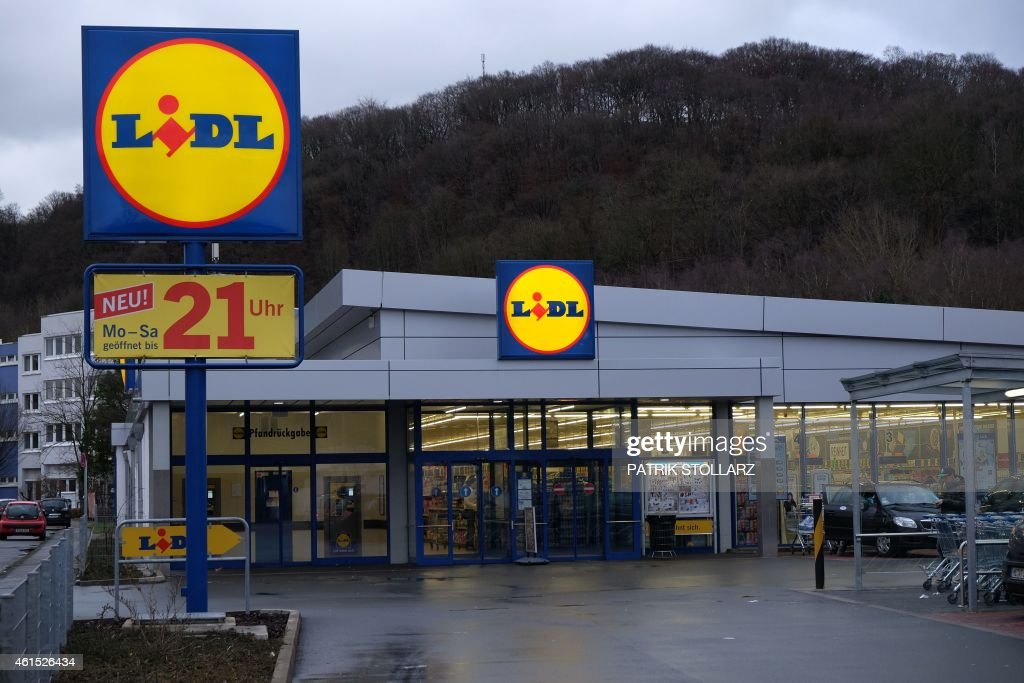 A general view of a Lidl supermarket discount store in Essen, western... Pictures | Getty Images