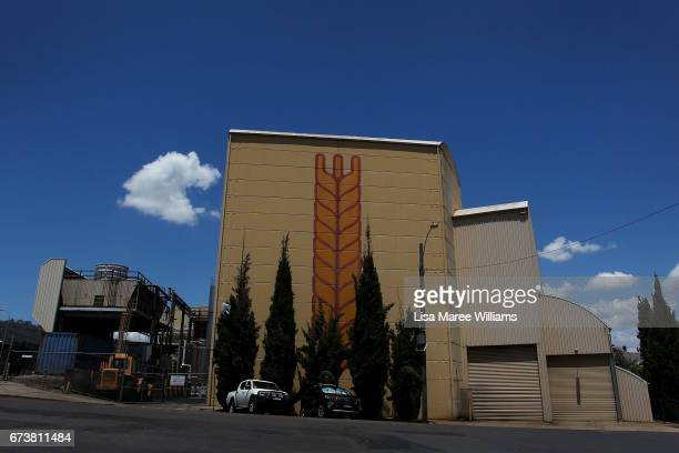 A general view of a Penford wheat processing plant on January 30 2017 in Tamworth Australia Tamworth is a large regional city in the New England...
