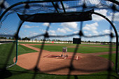 General view of a practice field at JetBlue Park in Fort Myers Florida on March 4 2015