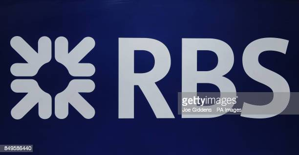 A general view of a Royal Bank of Scotland sign outside a branch in Leicester as RBS Chief Executive Stephen Hester will be paid a bonus of almost...