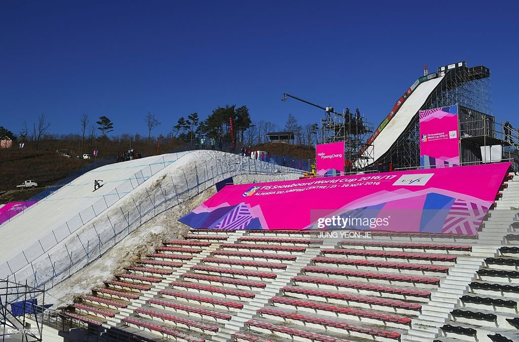 general view of a snowboard jump slope during a practice session for picture id625447322?k=6&m=625447322&s=612x612&w=0&h=xjyDh2uFKP8deJsyyjkH4jnruOK6EOBmsusXVdjUvKc= - ジェイミーアンダーソンは可愛いスノーボード選手!プロフィールと年齢と身長は?