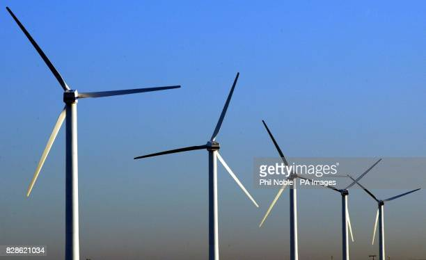 General view of a turbine at a wind farm at Siddick in Cumbria The government is publishing its Energy White Paper which is expected to send a strong...