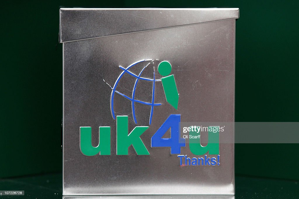 Christmas Charity Gifts Uk Part - 46: A General View Of A U0027uk4u Thanks!u0027 Gift Box In St Johns Wood