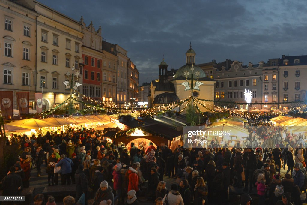 Christmas Market in Poland