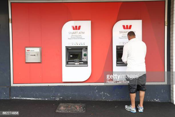 A general view of a Westpac bank branch on November 30 2017 in Melbourne Australia Prime Minister Malcolm Turnbull today announced that the federal...