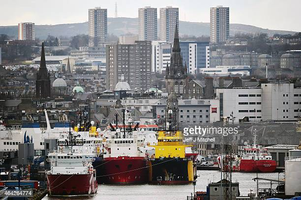 A general view of Aberdeen harbour on February 23 205 in Aberdeen Scotland Aberdeen City council has recently expressed its concerns over the North...