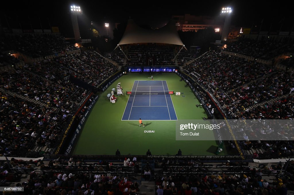 ATP Dubai Duty Free Tennis  Championship - Day Four