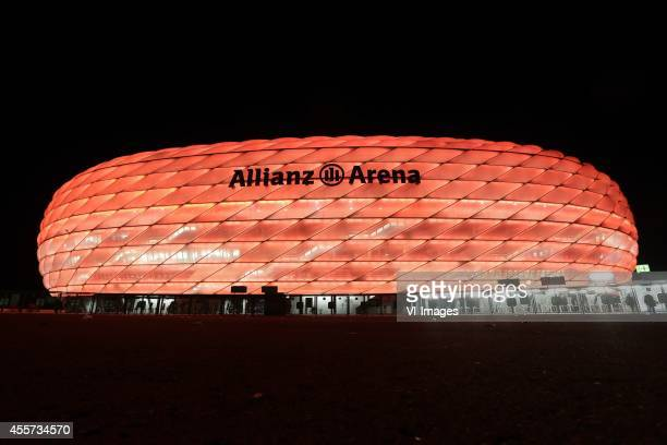 general view of Allianz arena during the UEFA Champions League group E match between Bayern Munich and Manchester City on September 17 2014 at the...