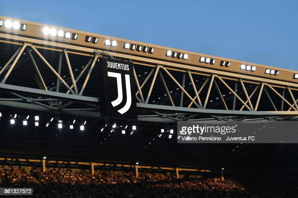 general view of Allianz Stadium during the Serie A match between Juventus and SS Lazio on October 14 2017 in Turin Italy